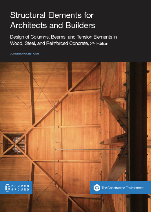 Second edition of Structural Elements for Architects and Builders